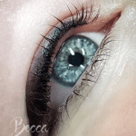 Becca's work, image of client.